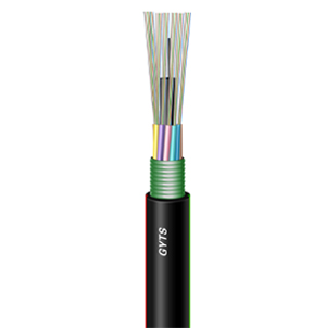 stranded loose tube armored fiber optic cable(GYTS)