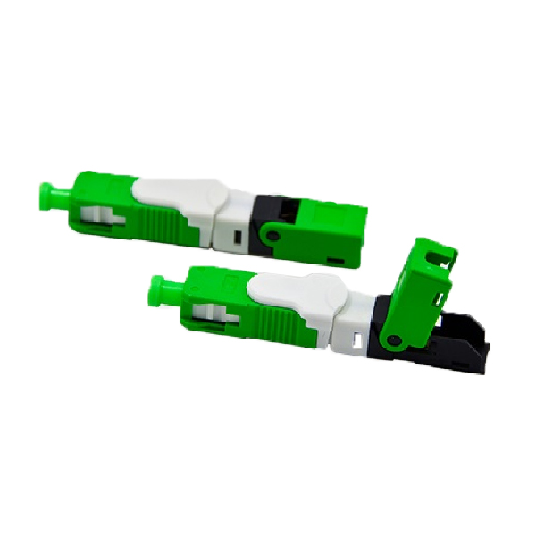 Drop cable snap-in SC-APC/UPC fiber fast connectors