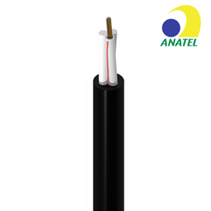 TWO FRP Aerial Fiber Optic Cable (GYFFY)
